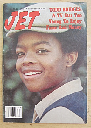 Jet Magazine October 16, 1980 Todd Bridges