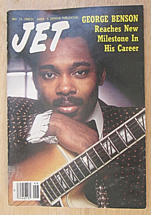 Jet Magazine November 13, 1980 George Benson