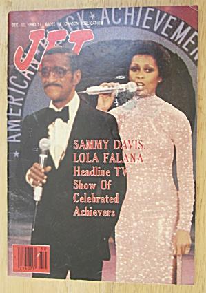 Jet Magazine December 11, 1980 Sammy Davis/ Lola Falana (Image1)
