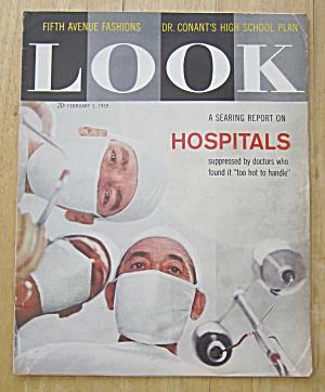 Look Magazine February 3, 1959 Hospitals (Image1)