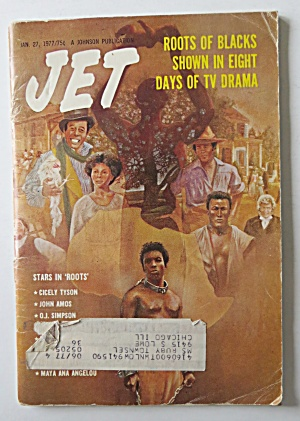 Jet Magazine January 27, 1977 Roots The Movie
