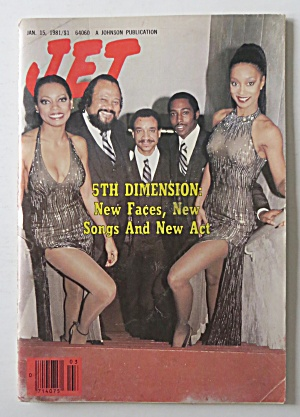 Jet Magazine January 15, 1981 5th Dimension