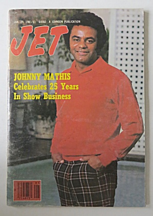 Jet Magazine January 29, 1981 Johnny Mathis