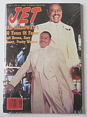 Jet Magazine February 5, 1981 Cab Calloway's Fame