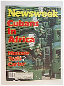 Newsweek Magazine - March 13, 1978 - Cubans In Africa (Image1)