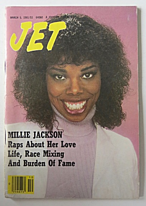 Jet Magazine March 5, 1981 Millie Jackson