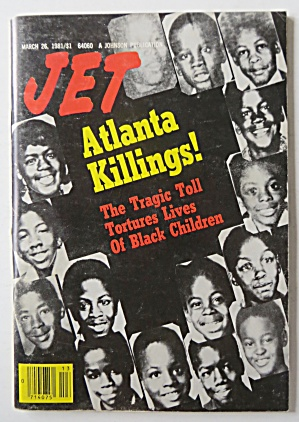 Jet Magazine March 26, 1981 Atlanta Killings
