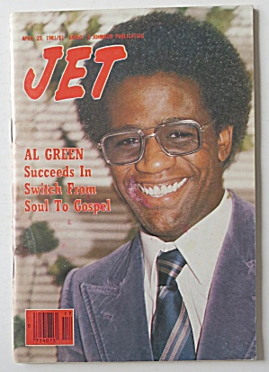 Jet Magazine April 23, 1981 Al Green