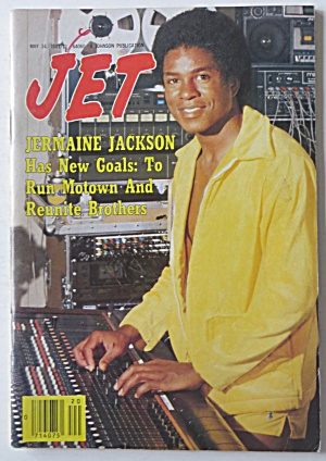 Jet Magazine May 14, 1981 Jermaine Jackson