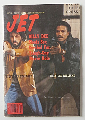 Jet Magazine May 28, 1981 Billy Dee Sheds Sex Symbol
