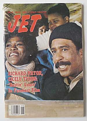 Jet Magazine June 25, 1981 Richard Pryor/cicely Tyson