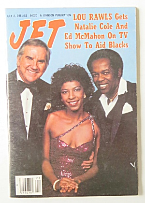 Jet Magazine July 2, 1981 Lou Rawls