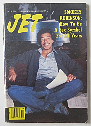 Jet Magazine July 9, 1981 Smokey Robinson