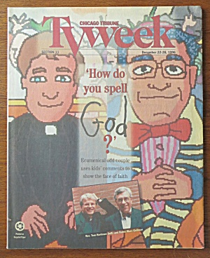 Tv Week December 22-28, 1996 How Do You Spell God?