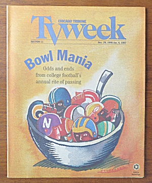 Tv Week December 29, 1996-january 4, 1997 Bowl Mania