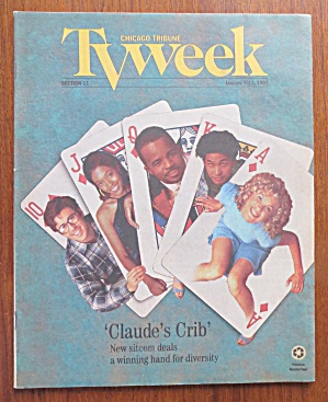 Tv Week January 5-11, 1997 Claude's Crib