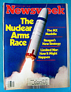 Newsweek Magazine - October 5, 1981 - Nuclear Arms Race (Image1)