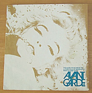 Avant Garde Magazine March 1968 Marilyn Monroe Trip (Image1)