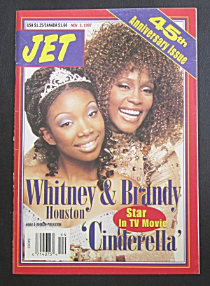 Jet Magazine November 3, 1997 Whitney & Brandy