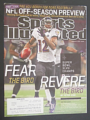 Sports Illustrated February 11, 2013 Fear Revere