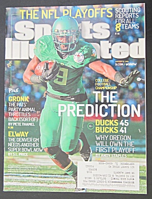 Sports Illustrated January 12, 2015 The Prediction