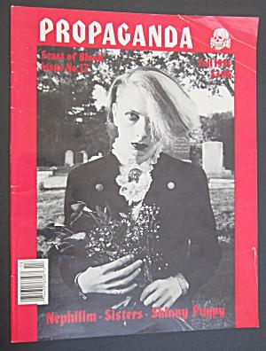 Propaganda Magazine Fall 1991 Feast Of Blood (Image1)