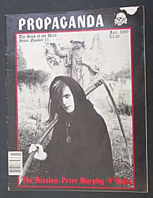 Propaganda Magazine Fall 1990 Book Of The Dead