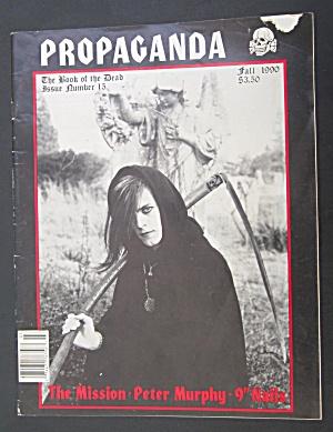 Propaganda Magazine Fall 1990 Book of the Dead (Image1)