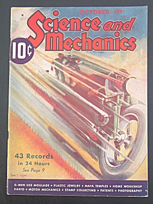 Science & Mechanics Magazine October 1937