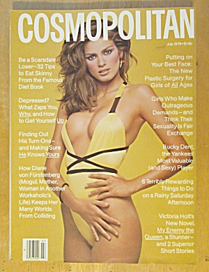 Cosmopolitan Magazine July 1979 Gia