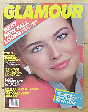 Glamour Magazine September 1983 Paulina
