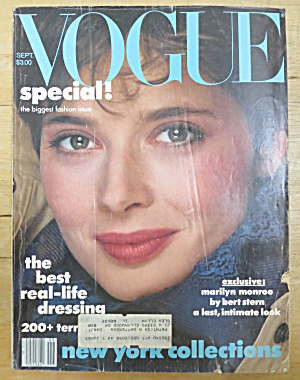 Vogue Magazine September 1982 Isabella Rossellini