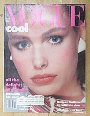 Vogue Magazine May 1983 Lauren Helm