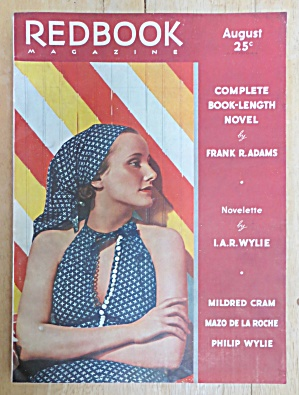 Redbook Magazine August 1936 Adams & Wylie
