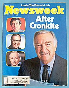 Newsweek Magazine - March 9, 1981 - After Cronkite (Image1)