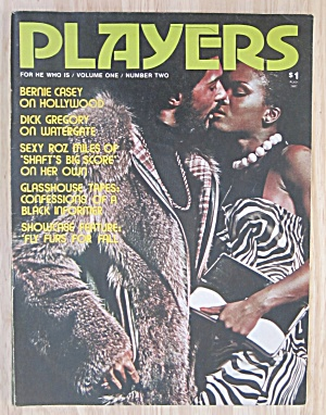 Players Magazine January 1974 Dick Gregory/roz Miles