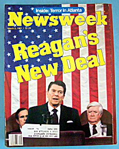 Newsweek Magazine - March 2, 1981 - Reagan's Deal (Image1)