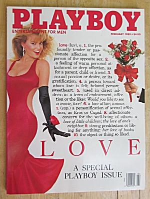 Playboy Magazine February 1989 Simone Eden (Image1)
