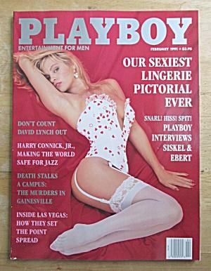 Playboy Magazine-February 1991-Cristy Thom (Image1)