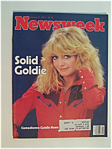 Newsweek Magazine - January 12, 1981 - Goldie Hawn