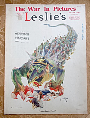 Leslie Magazine July 13, 1918 Ross Cover  (Image1)