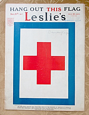 Leslie Magazine December 15, 1917 Red Cross Cover (Image1)
