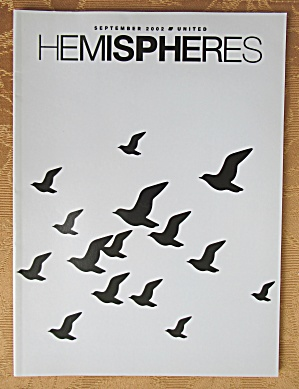 United Airlines Hemisphere Magazine - September 2002 (Image1)