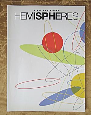 United Airlines Hemisphere Magazine - April 2002 (Image1)