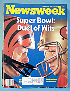 Newsweek Magazine - January 25, 1982 - Super Bowl