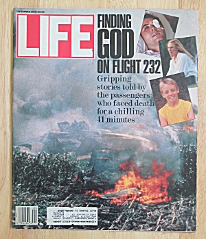 Life Magazine September 1989 Flight 232