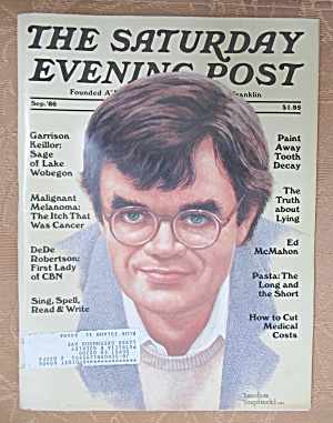 Saturday Evening Post Magazine September 1986 (Image1)