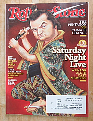 Rolling Stone Magazine February 26, 2015 Snl 40th