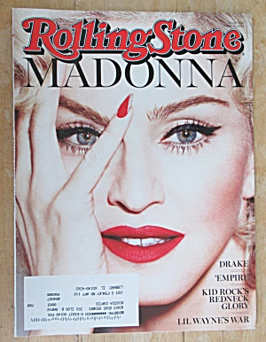 Rolling Stone Magazine March 12, 2015 Madonna
