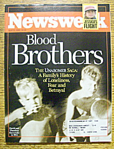 Newsweek Magazine-April 22, 1996-Ted Kaczynski (Image1)